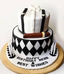 Cigar 50th Birthday Cake