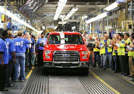 New F-150 Ads Focus On Re-tooled Truck's Durability | Toledo Blade Michigan Supplier Fire Idles 4000 At Ford Truck Plant In Dearborn Tops Resurgent Us Car Industry 2013 Sales Results Show The Could Reopen Two Plants Next Friday F150 Chassis Go Through Assembly Fords Video Inside Resigned To See How The 2015 F Announces Plan To Cut Production Save Costs Photos And Ripping Up History Truck Doors For Allnew Await Takes Costly Gamble On Launch Of Its Pickup Toledo Blade Plant Vision Sustainable Manufacturing Restarts Production