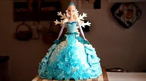 How to Make a Frozen Elsa Cake Video