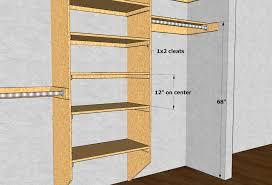 Closet Shelving Layout & Design