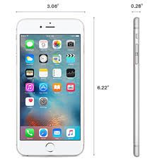 Apple iPhone 6 Plus Silver 16gb Tmobile – SmartPhone City