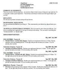 Umd Resume Builder Samples For College Students Awesome Example
