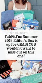 FabFitFun Summer 2018 Editor's Box FULL Spoilers + $10 Off ... Coupon Code Fullbeauty Black Friday Deals Kayaks List Of Crueltyfree Vegan Beauty Box Subscriptions Glossybox March Review Code Birchbox May 2019 Subscription Dont Forget To Use Your 20 Bauble Bar From Allure Free Goodies With First Off Cbdistillery Verified Today Nmnl Spoiler 3 Coupon Codes Archives Pretty Gossip Be Beautiful Coupons Dell Xps One 2710