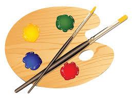 Art Palette Clipart