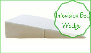 intevision folding wedge bed pillow review memory foam pillow