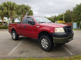 100 2007 Ford Truck Used F150 XL 4X4 For Sale 7NA53575