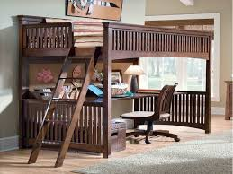 Full Size Loft Bed With Desk Underneath Pattern — All Home Ideas