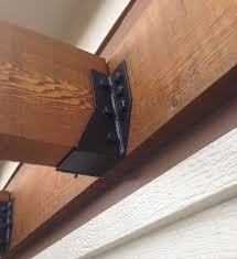 2 x 6 decorative joist hangers how to join wood beams and joists with metal bracket