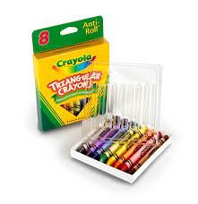 Crayola Bathtub Crayons 18 Vibrant Colors by Amazon Com Crayola 8ct Triangular Crayons Toys U0026 Games