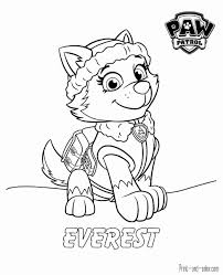 Skye Coloring Page Best Of Paw Patrol Pages Print And Color