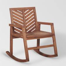Outdoor Wood Patio Rocking Chair | Free Shipping
