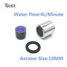 Delta Faucet Aerator Thread Size by Tulex Faucet Aerator 18mm Female Thread Water Saving 6l Min Spout