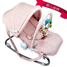 US $82.56 36% OFF|Multifunctional Baby Rocking Chair Cradle Baby Chair  Reassure The Rocking Chair Chaise Lounge Electric-in Bouncers,Jumpers &  Swings ...