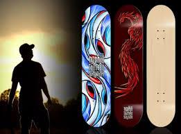 Pintail Longboard Deck Template by Download 10 Free Skateboard Mockups Design Ginva