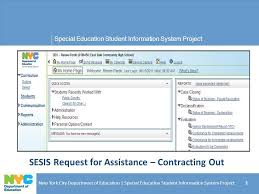 sesis request for assistance contracting out ppt download