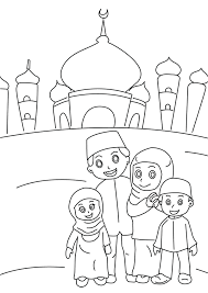 Ramadan Coloring Pages Colouring In The Playroom