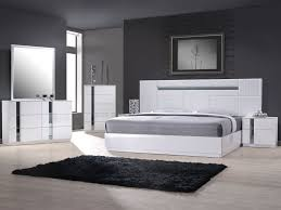 Amara White Modern Bed The Holland Enhance The Beauty Your