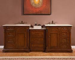 Ebay Bathroom Vanity Tops by Silkroad Antique Double Sink Bathroom Vanity Cream Marfil Marble