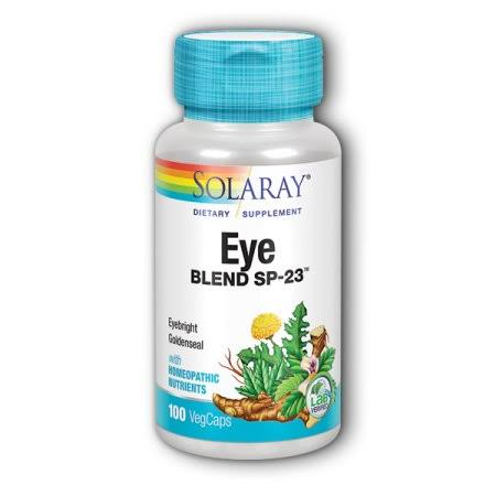 Solaray Eye Blend SP-23 Vegetarian Capsules - x100
