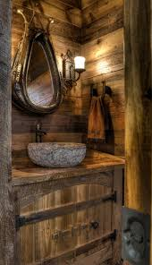Small Rustic Bathroom Images by Powerfully Primitive Huge House Located In Minneapolis Has A