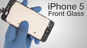 Front Glass LCD Screen Assembly Repair iPhone 5 How to Tutorial