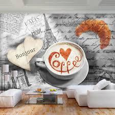 details zu kaffee küche vlies fototapeten holz optik tapete natur esszimmer wandbilder