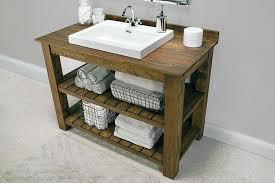 sink and cabinet bathroom rustic bathroom vanity from build