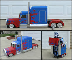 100 Optimus Prime Truck Model Transforming Costume 8 Steps With Pictures
