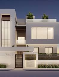 les 25 meilleures idées de la catégorie façade villa moderne sur
