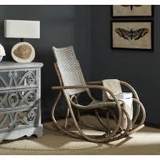 Details About Safavieh Bali Antique Grey Rocking Chair - 23.2