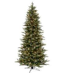 Slim Santa Fe Fir Artificial Christmas Trees