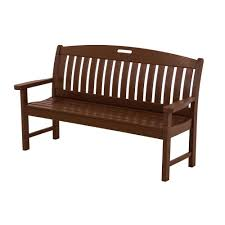 Outdoor Bench Cushions Home Depot by Outdoor Benches Patio Chairs The Home Depot