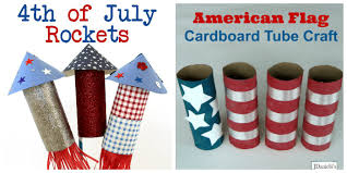 Cardboard Tube 4th Of July Crafts For Kids