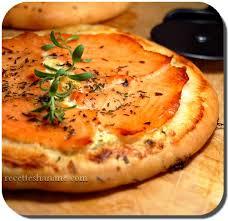 pate a pizza maison pizza au saumon pâte à pizza maison recettes by hanane