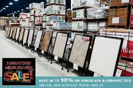 save big on 750k square of 1st quality tile mosaics