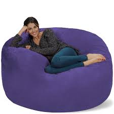 Amazon.com: Chill Sack Bean Bag Chair: Giant 5' Memory Foam ... Amazoncom Jaxx Nimbus Spandex Bean Bag Chair For Kids Fniture Creative Qt Stuffed Animal Storage Large Beanbag Chairs Stockists Best For Online Purchase Snorlax Sizes Pink Unique Your Residence Inspiration Childrens Bean Bag Chairs Ikea Empriendoclub Sofa Sack Plush Ultra Soft Memory Posh Stuffable Ultimate Giant Foam