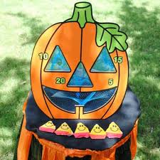 This Super Fun Pumpkin Bean Bag Toss Set Is A Ready To Play Fall Carnival Game You Wont Want Miss