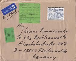 Brief Nach Tunesien Porto Briefe Philatelie Bund Berlin Ddr