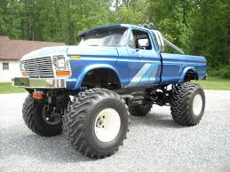 100 Ford Monster Truck BangShiftcom This 1979 Is Personal Perfection