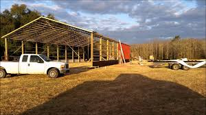 God It Made Ranch Aiken Barn Building - YouTube Need Metal 30 X 40 Pole Barn 385875 60 16 Rv Or Motorhome Cover Tall 10 With Steel Truss Picture Is A Support Spacing For Pole Barn Structure Armour Barns Images Reverse Search Kits Steel Trusses And Carports Youtube Inside 30x80 Home Garden Pinterest Lofts Metals Roofing Garages Garage Bnsshedsgarages 240x12 Kit Part 3 How We Install The Highside Oakland Structures