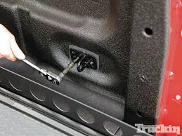 100 Truck Bed Bolts To Start Off The Bed Security Installations We Began With The