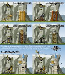 the great siege the great siege catapult wall ayumilove
