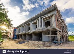 100 Modern Two Storey House Two Storey Houses Are Under Construction In Thailand Modern House