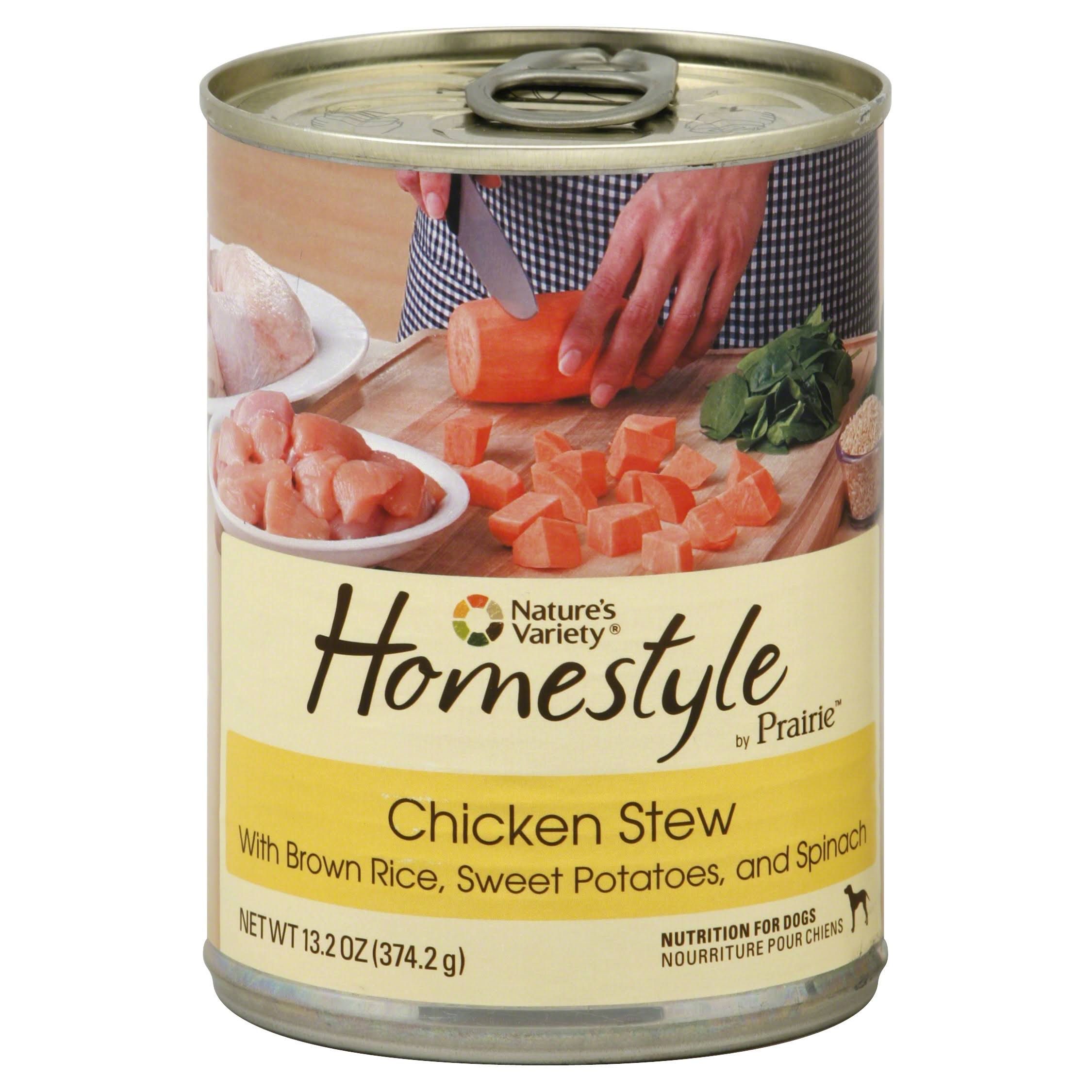Nature's Variety Homestyle by Prairie Canned Dog Food - Chicken Stew