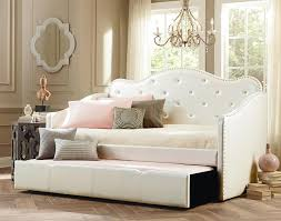 Diva Upholstered Twin Bed Pink by Upholstered Twin Bed Headboard Glamorous Bedroom Design