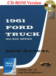 1961-63 Ford Truck Shop Manual: Ford Motor Company, David E. LeBlanc ... 1961 Fordtruck 12 61ft2048d Desert Valley Auto Parts The New Heavyduty Ford Trucks Click Americana F100 Swb Stepside Truck Enthusiasts Forums F 100 61ftnvdwd Pro Usa Volante Fairlane Falcon Steering Super Rare F250 4x4 V8 Runs And Drives 12500 1960 Thunderbird Not A Stock Color But It Is 1959 Flickr Wiring Diagrams Fordificationinfo 6166 Cventional Models Sales Brochure F350 Flat Bed Dually Antique Ford Trucks Sarah Kellner 2016 Detroit Autorama
