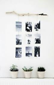 DIY Photo Hanger With Stick