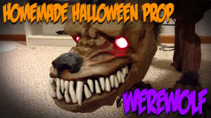 Homemade Animatronic Halloween Props by Animatronic Werewolf Prop For Halloween Christmas Reindeer Hack