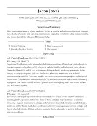 View Resume All Wheeled Mechanic