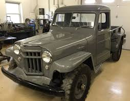 Super Hurricane Six: 1956 Willys Jeep Pick-Up | Bring A Trailer 136184 1940 Willys Pickup Rk Motors Classic And Performance Cars 1962 Jeep Overland Front Left View Products I Love Hemmings Find Of The Day 1950 473 4wd Picku Daily 1951 Jeep Kaiser Willys Willy Pickup Truck Frame Rust Free Nice Gateway 936det 1963 For Sale 2120330 Motor News Pivnic 1957 Specs Photos Modification Info At Cardomain Truck Hot Rod Image 178 Stinky Ass Acres Rat Offroaderscom 1941 1880014 Willys Truck Related Imagesstart 150 Weili Automotive Network Rare Aussie1966 4x4 Vintage Vehicles 194171